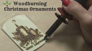 pyrography tutorial wood burning a candle ornament youtube