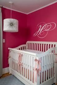 pink and gray nursery design ideas