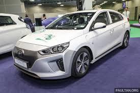 kereta hyundai ioniq hyundai ioniq electric hanya dipamer belum dijual