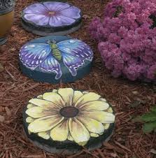 25 unique painted stepping stones ideas on