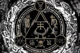 Occult Home Decor Black Thrash Darkness Occult Satanic Living Room