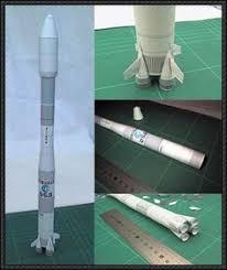 carrier rocket rokot free paper model download http www