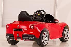 audi car wheels black friday amazon amazon com vroom rider ferrari f12 rastar 6v battery operated