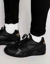 nike siege nike air flight huarache low black