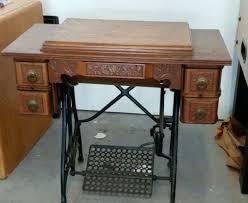 White Sewing Machine Cabinet by Rare 1900 U0027s Antique White Rotary Sewing Machine 4 Drawer Cabinet