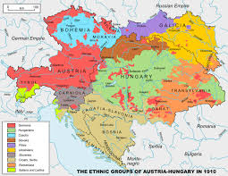Map Of Serbia The Origins Of Wwi
