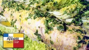 cuisiner le merluchon recette merlu entier en court bouillon chef alain dutournier