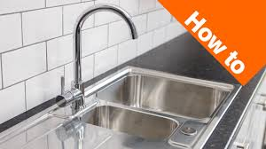 Replacing A Kitchen Sink Home Design - Fitting a kitchen sink