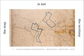 the map is not the territory cow house studios the map is not the territory