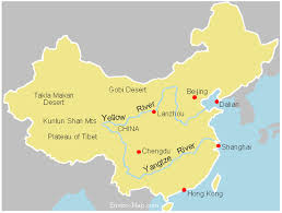 rivers in china map 6 major rivers of list of major rivers quickgs com