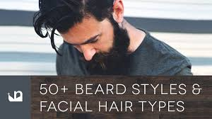 50 beard styles and hair types for