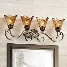 Gold Bathroom Light Fixtures Organic Amber Glass Light Review Gold Bathroom Light Fixtures