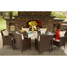 Aluminum Patio Dining Set Aluminum Outdoor Dining Sets For Less Overstock