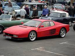 80s ferrari photo collection old ferrari testarossa