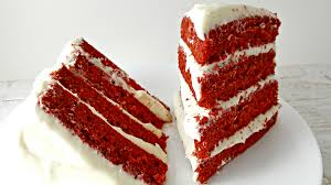 red velvet cake recipe and whipped cream cheese frosting for two
