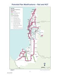 Seattle Monorail Map by Sound Transit Updates Long Range Plan