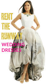 rental wedding dresses rent the runway wedding dresses a practical wedding