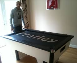 Pool Table Jack Branded And Printedl Pool Table And Logo Cloth Uk