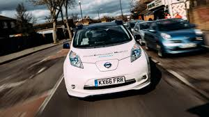 nissan leaf ads can a nissan leaf really drive itself we find out top gear