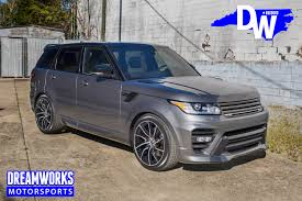 land rover overfinch range rover with overfinch wheels and body kit u2014 dreamworks