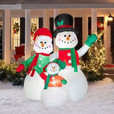 88 frosty snowman inflatable images