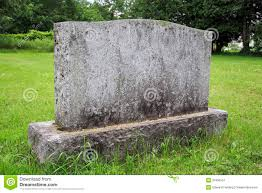 granite grave markers granite grave marker blank for customizing stock image image