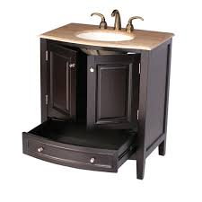 Bathroom Vanity Cabinets 24 Inches by 32 U201d Naomi Bathroom Vanity Single Sink Cabinet Espresso Finish