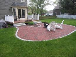 brick patio border ideas natural brick patio designs cement patio