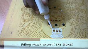 Mural Painting Designs by Step 5a Muck Relief Work Tanjore Painting Kerala Mural Style