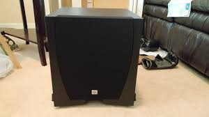 jbl studio 550p 10 inch subwoofer quick review audioholics home