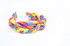 craft bracelet images Design for kids crepe paper bracelets babble dabble do jpg