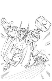 thor coloring pages coloring page blog