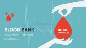 Colorful Blood Bank Powerpoint Template Slides Slidemodel Healthcare Ppt Templates