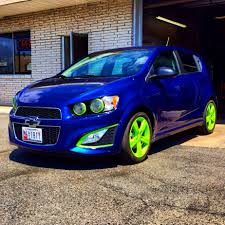 new items dipped electric lime green chevy sonic owners forum
