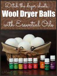 essential oils for fragrance ls wool dryer balls with essential oils diy laundry