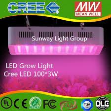 Full Spectrum Led Grow Lights Cree 3w Led 300w 9 Band Full Spectrum Led Grow Lights Red Blue