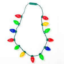 flashing christmas light necklace big retro bulb led christmas necklace retrofestive ca