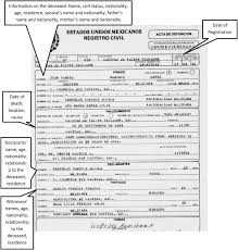best photos of mexico birth certificate template mexican birth