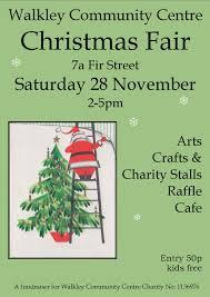 christmas craft fair u2014 walkley community centre
