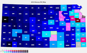 Red And Blue State Map by 2012 National And State Pvi Bellwether Counties For All 50 States
