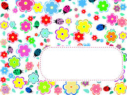 flowers and ladybirds ppt backgrounds design flowers templates