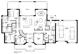 Home Plans Ranch Style Decor Sloped Lot House Plans Ranch House Plans With Walkout