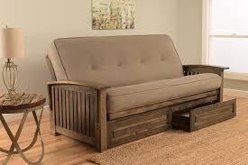 rustic futon assembling wooden futon beds loccie better homes