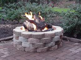Gas Fire Pit Kit by Amazing In Ground Gas Fire Pit Kit Garden Landscape
