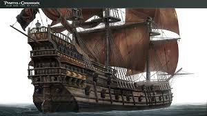 artstation pirates of the caribbean dead men tell no tales