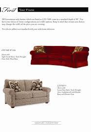 Depth Of A Sofa Cornerstone Ltd7600 By Century Baer U0027s Furniture Century