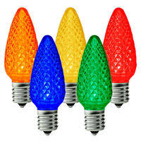 multi color c9 led replacement lights 1000bulbs