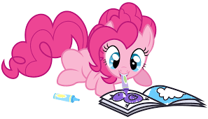 pinkie pie coloring by thatguy1945 on deviantart