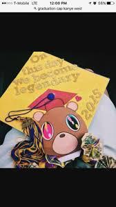 graduation cap covers kanye west graduation cap graduation cap ideas