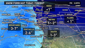 Cripple Creek Colorado Map by More Rain And Snow On Thursday 9news Com